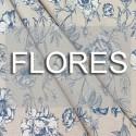 Telas de Flores